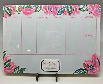 Weekly Desk Pad in Totally Blossom by Lilly Pulitzer