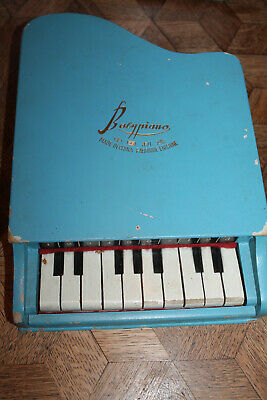 Vintage BABY PIANO Made in China, Funktioniert noch,