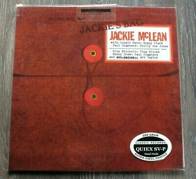 Classic Records Blue Note 4051 Jackie McLean Jackies Bag 200G LP MONO SEALED