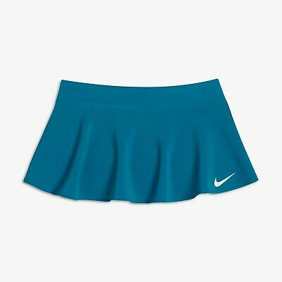 Nike Court Pure Girls skirt with lining shorts - girls M (age 10-12) in turq.