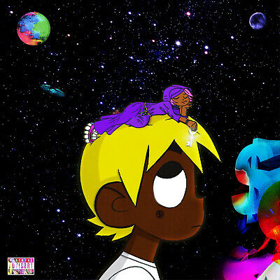 "Lil Uzi Vert Eternal Atake LUV vs. The World 2 Deluxe Album Cover Poster 24""×24"""