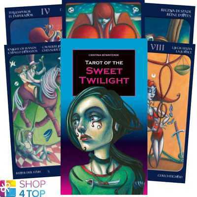 Tarot Of The Sweet Twilight Deck Cards Benintend Fortune Telling Lo Scarabeo New