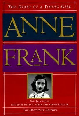 The Diary of a Young Girl by Ana Frank (1995, Hardcover)