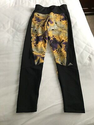 Girls Adidas Leggings 9-10