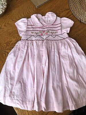 LAST TWO G11 Pretty Originals Pink Dress Set With Headband New 3 and 12 Months