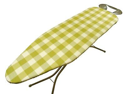 Brixham Pistachio ironing board cover,Easy Fit, Thick Foam Backing *3 sizes*