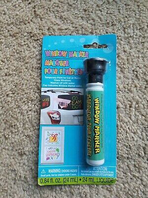 Black Window Markers Temporary Paint for Car Home Glass Windows brand new