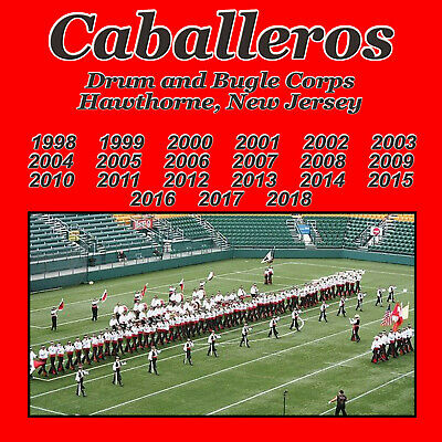 Hawthorne Caballeros    QUAD 4 CD SET   DRUM CORPS CD C