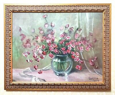 Framed Antique-Style Painting Portrait - Vintage Frame Painting