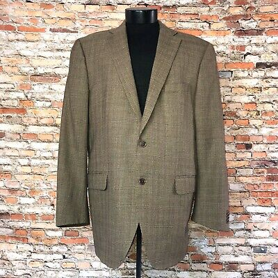 Men's Peter Millar Suit Jacket Blazer Size 44T 100% Wool