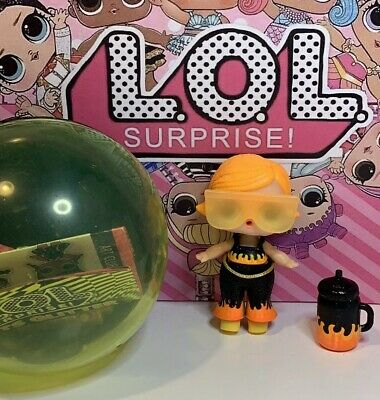 LOL Surprise Doll Lights Glitter Series Fyre Completed