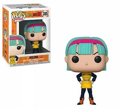Funko Pop! Animation: Dragon Ball Z, Bulma (Yellow Outfit) #385, New, Vinyl