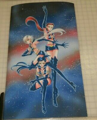 Sailor Moon Sailor Star Lights 11x15 color laminated