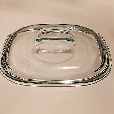 Pyrex Square Lid 680 C for Corning Ware Simply Lite 2.5 Qt Casserole Dish