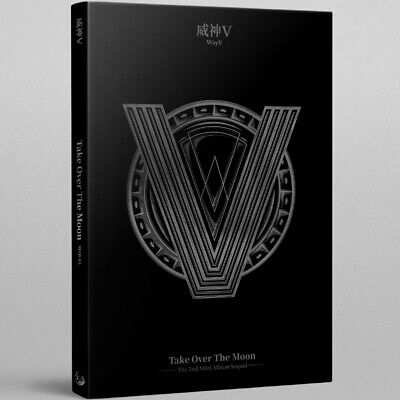 WayV - Take Over The Moon : Sequel CD+Booklet+Postcard+Photocard+Circle Card NEW