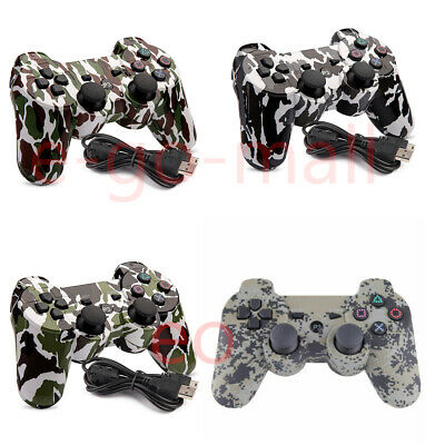 Wireless Bluetooth Gamepad Double Vibration Six-Axis Remote Joystick for PS3