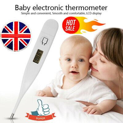Medical Oral Digital LCD Thermometer Baby Adult Body Safe Ear Temperature HOT!!!