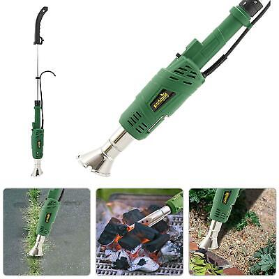 2 In 1 Electric Weed Burner 2000w & Garden Killer Blowtorch Bbq Lighter Wand