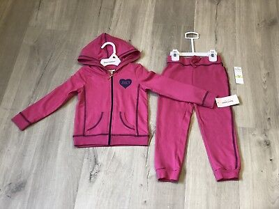 [BNWT] Juicy Couture cotton tracksuits Pink Girl size 3T