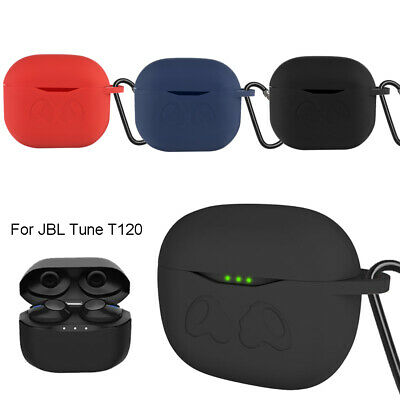 Portable Earphone Protective Silicone Case Cover for JBL Tune T120 TWS-