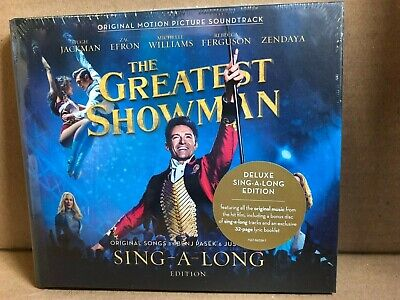 The Greatest Showman (Deluxe) Sing-a-Long Edition CD  NEW & Sealed  WC1