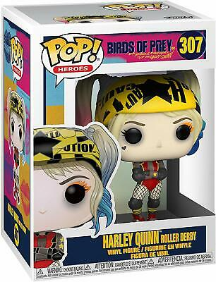 Funko Pop! Vinyl Dc Birds Of Prey Harley Quinn Roller Derby **  In Stock Now!**