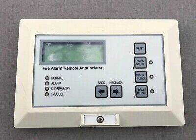 Fire Alarm Edwards EST 2-LSRA-C Remote Annunciator FREE Shipping Used