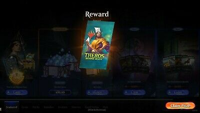 MTGA Theros Beyond Death Prerelease Magic Arena 6 Boosters FAST Code EMAIL 1//act