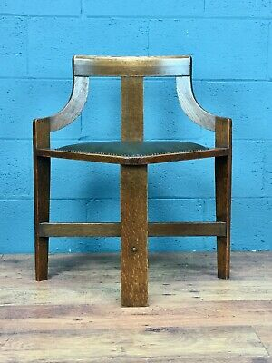 Arts and Crafts Corner Hall Chair (100835)