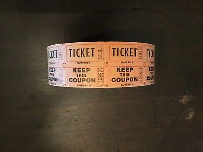 Roll of Raffle tickets-vintage