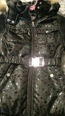 Girls size 12 black jacket light weight new with tags VERY cute