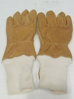 Safety Equipment Institute Pigskin Firefighting Gloves Size Large New
