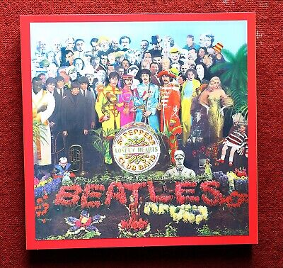The Beatles Sgt Pepper's Lonely Hearts Club Band 4CD BluRay/DVD Super Deluxe Box