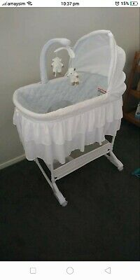 Baby bassinet used
