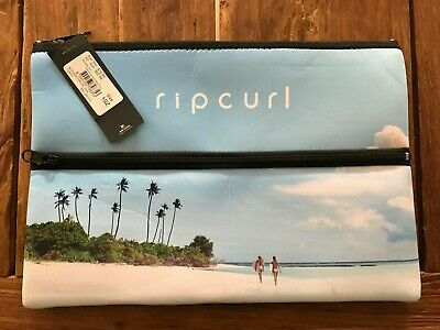 Ripcurl XL Pencil Case Coastal View, Neoprene, Brand New with Tags