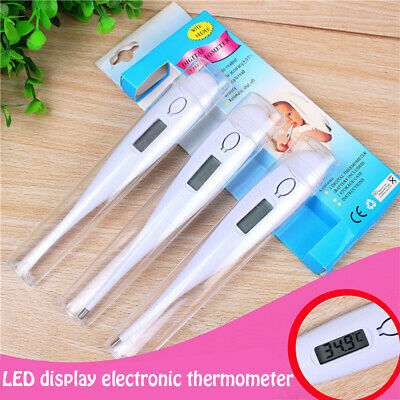 Baby Child Adult Body Digital LCD Heating Thermometer Temp Measurement Meter USA