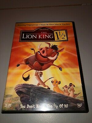 The Lion King 1 1/2 - DVD