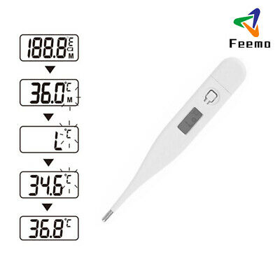 Hot LCD Medical Adult Child Baby Fever Body Oral Rectal Digital Thermometer