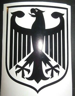 Decal German Coat of Arms Eagle Shield Germany Berlin Munich Stuttgart Sticker