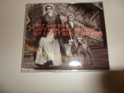 CD   Pet Shop Boys – I Don't Know What You Want But I Can't Give It Any More