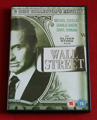 Wall Street - Special Edition (2-Disc) - R2 DVD - Michael Douglas, Charlie Sheen