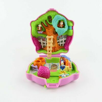 POLLY POCKET Bluebird 1996 DISNEY Donald Duck with Chip N Dale *COMPLETE*