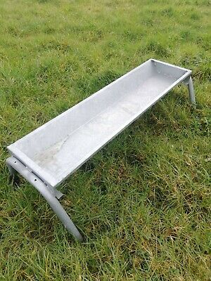 4' hot dipped galvanised sheep/calf/pony/goat trough. FREE POSTAGE