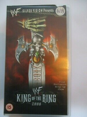 VGC WWF VHS VIDEO PAL SILVER VISION King Of The Ring 2000