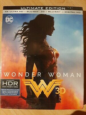 Wonder Woman 4k, 3d & 2d Ultimate Edition, brand new sealed
