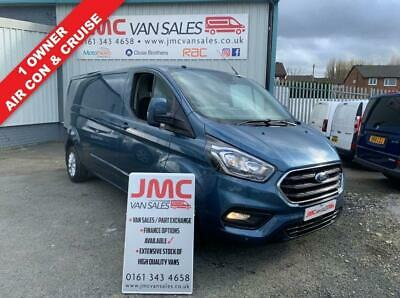 2019 Ford Transit Custom Limited 130Bhp 300 Lwb New Shape Full Service History