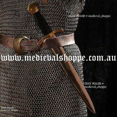 Medieval Dagger - Full Tang, With Scabbard, Sharp & Functional, EN45 Steel