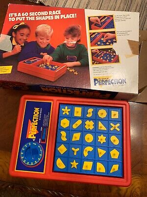 Vintage The Game Of Perfection Board Game Milton Bradley 1989