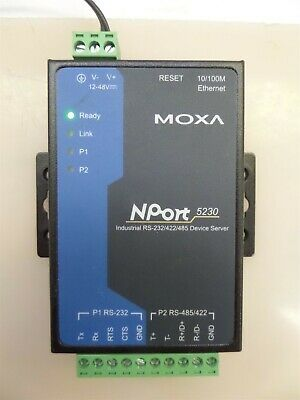 Moxa Nport 5230 Industrial RS-232//422//485 Device Server
