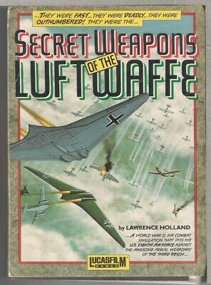 Secret Weapons Of The Luftwaffe  IBM PC 3.5""""